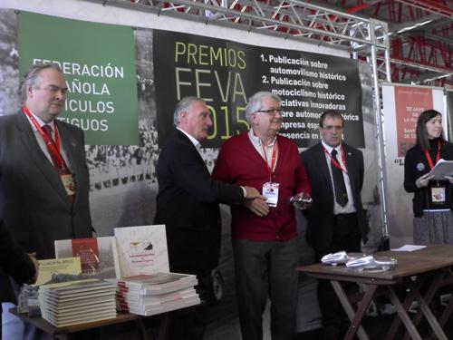 Entregados los Premios FEVA 2015