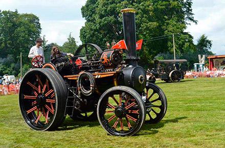 Celebrado el Bon Accord Steam Fair 2017, reservado para vehículos de vapor