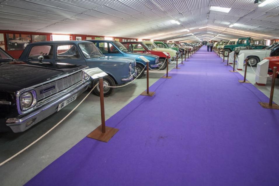 Museo coches de cine Colección Vicente Pavia